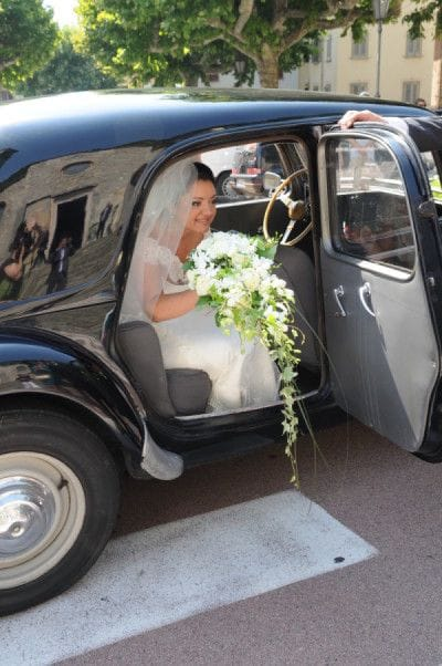 L'arrivo della sposa.